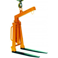 Lève-palette EICHINGER auto-équilibrée écartement et hauteur réglable 1500 Kg-1052