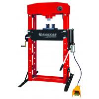 Presse d'atelier manuelle et pneumatique 50T DRAKKAR - 10550