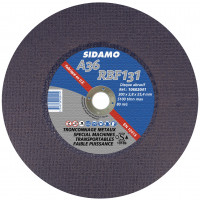 Disque abrasif Sidamo A 36 RBF 131 Ø 355 mm Alésage 25.4 Pour MCS 350 A - 10602042