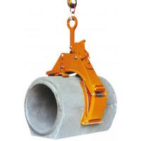 Benne preneuse de tuyau beton eichinger 3 T Automatique levage et pose en tranchées-10643