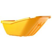 HAEMMERLIN -Caisse thermoplastique PP jaune 110 L
