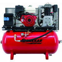 COMPRESSEUR THERMIQUE 9CV 230L MOTEUR HONDA - AIR + ELEC 220V-SODISE-11252