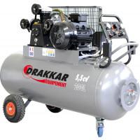 """COMPRES.""""V"""" 200L 5.5CV 400V PRO+TABLEAU REGUL DRAKKAR - 11276"""