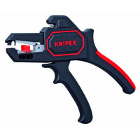 PINCE A DENUDER REGLAGE AUTOMATIQUE S/CARTE KNIPEX SODISE - 12392