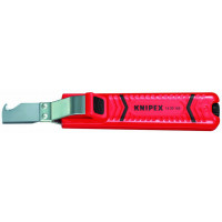 COUTEAU A DEGAINER 165MM KNIPEX S/CARTE SODISE - 12393