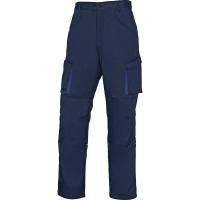 PANTALON DE TRAVAIL MACH 2 EN POLYESTER/COTON Bleu Marine- Bleu Roi DELTA PLUS-M2PW2BM
