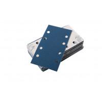 Paquet de 50 coupes d'abrasif agrippantes 175x93 mm perforées 8 trous grain 80 SAM OUTILLAGE - 145880