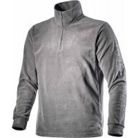 T-shirt zippé en micropyle avec imprimé Utility sur la manche DIADORA GRIPEN  Gris Métal - 158540750700