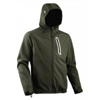 Veste softshell DIADORA Vert 3 poches avec Capuche SAIL - 15963270226