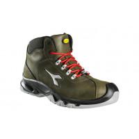 DIADORA-Chaussure de sécurité haute en Nubuck hydrofuge S3 HI DIABLO Vert Brillant-159924