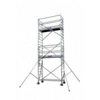 Duarib-Echafaudages roulants Aluminium DOCKER2 85 - LONGUEUR 2.54 m HAUTEUR PLANCHER 11.9 m -GC MONOBLOCS EXM- 254512