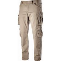 Pantalon de travail DIADORA multipoches élastique Beige WAYET II - 16029825070