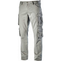Pantalon de travail DIADORA multipoches élastique Gris WAYET II - 16029875093