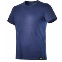 T shirt en coton jersey Bleu DIADORA - 160306750700