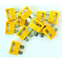 50 FUSIBLES ENFICHABLES -30A-/boite SODISE - 16047 (Default)