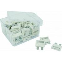 50 FUSIBLES ENFICHABLES -25A-/boite SODISE - 16046