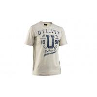 T-shirt manches courtes Gris Mélangé DIADORA avec motif T-SHIRT SS GRAPHIC - 161760C0096