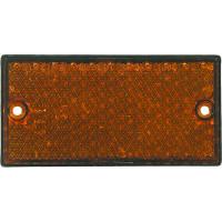 CATADIOPTRE 2 TROUS 105X44MM ORANGE SODISE-16208