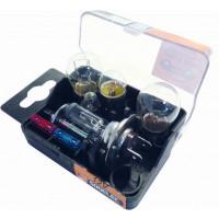 LOT 10 X 16275 COFFRET 12V H1+H7 6LAMPES+2FUS SODISE - 1627510