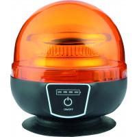 Gyrophare LED SODIFLASH magnétique sur batterie - 16375