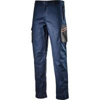 Pantalon de travail bleu marine CARGO STRETCH DIADORA - 172114600620