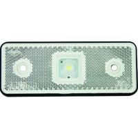 CATADIOPTRE RECTANGULAIRE BLANC 110X41 A LED SODISE-17937