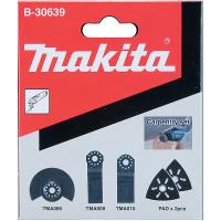 Ensemble 5 accessoires MAKITA pour découpeur ponceur : bois - B30639