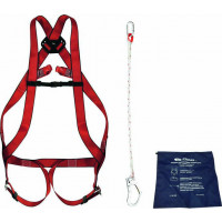 KIT ANTI CHUTE SPECIAL ECHAFAUDAGE - AVEC HARNAIS 2 POINTS D'ATTACHE SODISE - 18243