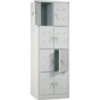 Vestiaire monobloc multicase Dim 1800x600x490 ARMAPRO SORI -VMC8