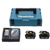 Pack Énergie MAKITA 18 V Li-Ion (2 batteries + 1 chargeur simple) avec coffret MAKPAC - 198116-4