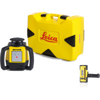LEICA-LASER  Rugby 610 avec coffret version pille et cellule de réception Rod Eye 140- 6008614