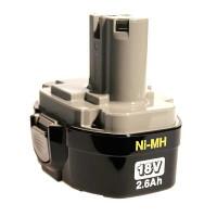 Batterie 1834 Ni-Mh 18V / 2.5 Ah-193102-0