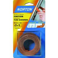 Rouleaux toile souple en 50 m NORTON pour poncage Grain 100-63642546428