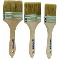 LOT DE 3 PINCEAUX QUEUE DE MORUE ACRYL. 63/76/90MM SODISE - 22618