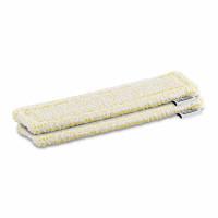 Lot de 2 Chiffons Microfibres Velcro Jaune pour nettoyeur à vitre WV 2&5 KARCHER - 2.633-130.0