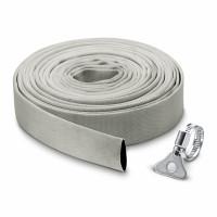 """Kit tuyau plat en textile 10m Ø 1""""1/4 (32mm) et collier de serrage - 2.997-100.0"""