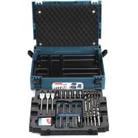 Coffret ensemble accessoires 66 pièces en coffret MAKPAC MAKITA -B-43044
