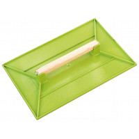 TALOCHE ABS 42 x 28 CM RECTANGLE VERTE SOFOP TALIAPLAST-300501