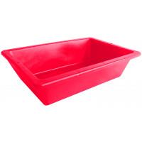 Auge plastique rouge 12 litres avec poignées incorporées SOFOP TALIAPLAST - 310204