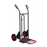 Diable à poignées à garde bavette repliable roues pleines - DBA 350 kg  - 810302120