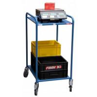 SERVANTE D'ATELIER MOBILE 250 KG / 2 PLATEAUX FIMM- 880008443