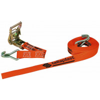 SANGLE D'ARRIMAGE A CLIQUET ORANGE 6MX35MM SOFOP TALIAPLAST - 402200
