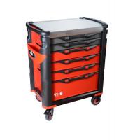 Servante grand volume série 41 - nouvelle génération - 6 tiroirs SAM OUTILLAGE-416HZ