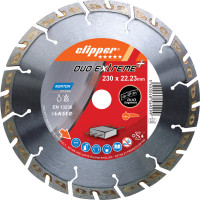 Disque diamant NORTON Duo Extreme+ Ø 230mm Alésage 22.23 mm- 70184647720