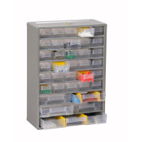 Casier SORI équipé de 35 tiroirs + 13 séparateurs 300x135x420 - 465510
