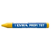 Craie de marquage forestiére jaune à l'huile en boîte de 12 - qualité pro 797 LYRA - 4870007