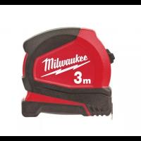 MESURE À RUBAN MILWAUKEE COMPACTE PRO 3M 16MM - 4932459591