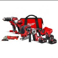 Pack 5 outils MILWAUKEE M18BPP5A-503A 18V 3x5Ah - 4933472243
