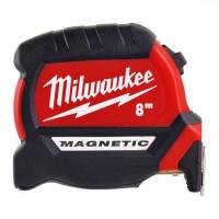 Mètre ruban 8M Premium Magnétique Gen 3 MILWAUKEE ACCESSOIRES - 4932464600