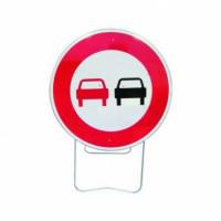 PANNEAU BK3 NADIA SIGNALISATION INTERDIT DE DOUB. 850MM T1- 201220